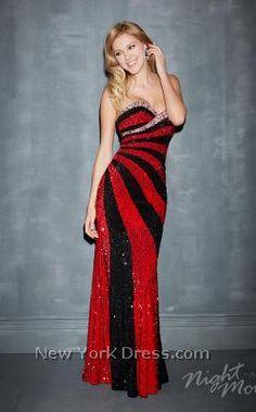 Harley Quinn for prom?! Heck yes!!!! Allure 7060 - NewYorkDress.com
