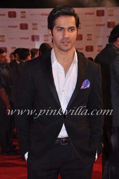 Varun Dhawan at the Stardust Awards   PINKVILLA