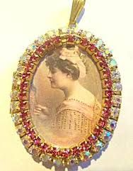 acrylic cameos women - Google Search