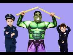 Hulk Smash the Destroyer In Real Life Funny Kids Video with Kid Cops – Agora Interfusion – Amazing Videos and Products!