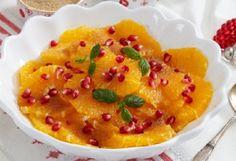 Salada de Laranjas com Romã