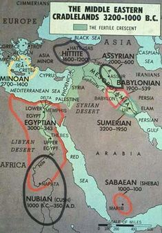 Annotated fertile crescent #Annotated #crescent #fertile #MiddleEasternHistory