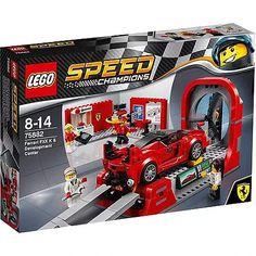 Lego Speed Champions Ferrari FXX K & Development Center 75882 Building Toy Boutique Lego, Lego Wheels, Ferrari Fxx, Lego Clones, Walmart, Wind Tunnel, Lego Speed Champions, Train Truck, Lego Trains