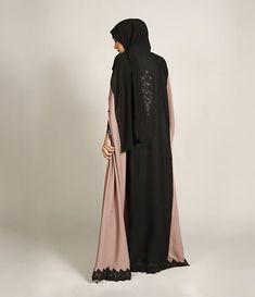 DUSK FLARE ABAYA   Limited stock  Shop at www.missabaya.com  #missabaya #abaya #abayah #pictureoftheday #ootd #fashion #hijab #black #fashionista #garland #wiwt #mondaymorning #vibes #hijabfashion #hijab #muslim #islam #islamic #springsummer #spring #summer #abaya #photography #photoshoot #photooftheday #lace #border #fabric #black #beads #kimono #pink #fridaymood