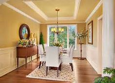dining room white paint below chair rail - Bing Images
