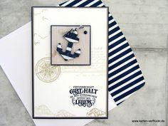 Scrapbooking by Andrea Big Shot, Cardmaking, Scrapbook, Cards, Wordpress, Design, Men, Nautical Cards, Man Card