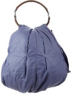 09e6ccf754e1 H by Halston Smooth Leather Drawstring Bucket Handbag - A269728 ...