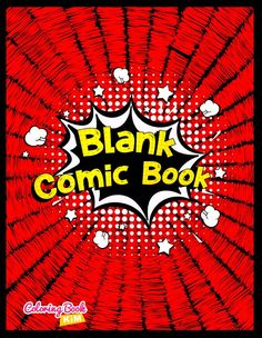 An blank comic to create great stories for children and adults.