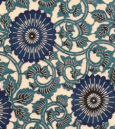 "ysvoice:  | ♕ | 南部古代型染め: Japanese traditional print, ""Nambu ancient stencil dyeing"""