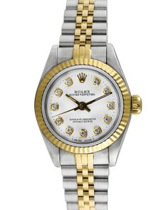 Rolex Oyster Perpetual Women's Watch Made In Switzerland http://fashionndesign.com/women/rolex-watches-more