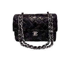Chanel Vintage Black Quilted Lambskin by LadyGatsbyLuxePaper