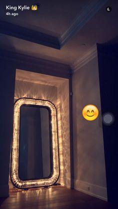 Kylie's huge mirror