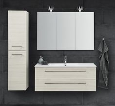 Ious Furniture Set With Kantate Basin And Mirror Cabinet Round Energy Saving Venus Light
