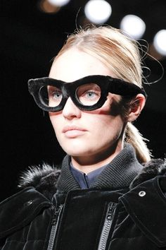 furry eyeglasses-- I don't know about these....