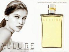 Mode Amplitude - Fashion & Culture: Perfume Allure, de Chanel.