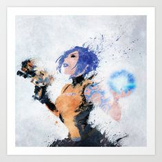 Borderlands - Maya Art Print by Melissa Smith - $17.00
