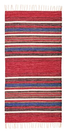 Weaving Textiles, Tapestry Weaving, Cotton Rugs, Rag Rugs, Textile Patterns, Rug Making, Scandinavian Style, Color Combinations, Loom