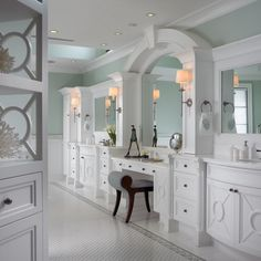 Such an elegant space! Love all the details. By Pinto Design and Associates