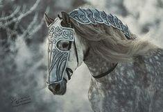 Dapples and armor Horse Armor, Horse Gear, Horse Tack, Pretty Horses, Beautiful Horses, Zebras, Arte Equina, Medieval Horse, Horse Costumes