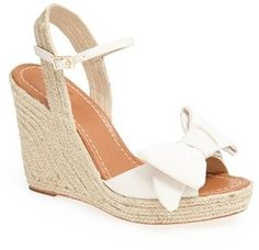 Kate Spade New York Bow Wedges
