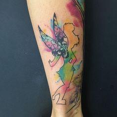 50 Tatuagens da Fada Sininho Lindas (melhores fotos!)