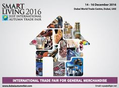 Autumn Fair 2016 - A one-stop destination to present products and trends Organiser: Al Fajer Information & Services , #dubai, #UAE