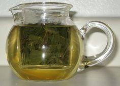 Oolong Tee beim Aufguss