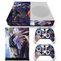 Anime Girls Battle Maiden In Suits With Guns Xbox One S Skin #anime #xboxskin #decals