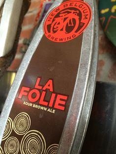 La Folie by New Belgium Brewing. #sour #craftbeer #aleyeah