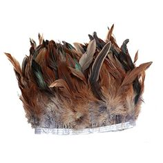 Rooster Feathers, Feather Crafts, Arts And Crafts Supplies, Fringe Trim, Amazon Art, Sewing Stores, Sewing Crafts, Decorative Bowls, Cool Designs