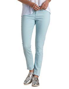 "Refuge ""Skin Tight Legging"" Colored Skinny Jeans: Charlotte Russe #denim #jeans"