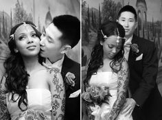 AMBW wedding.... beauty knows no color just that it loves to love! <3