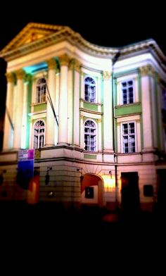 Stavovske divadlo in Prague-first place where Mozart's Don Giovanni was presented officially