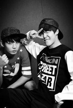 Jungkook + Jimin BTS