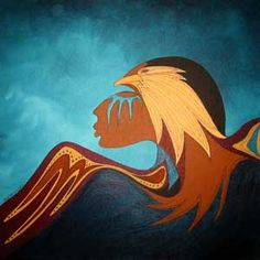 Thunder Being by Ioyan Mani (Maxine Noel, Santee Sioux)