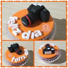 Cupcake camara fotografica