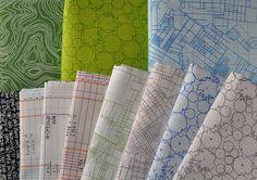 Architextures fabric -- Carolyn friedlander  Love the tree pattern