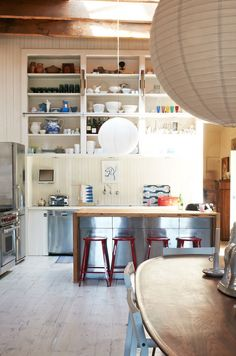 Lovely kitchen in a loft