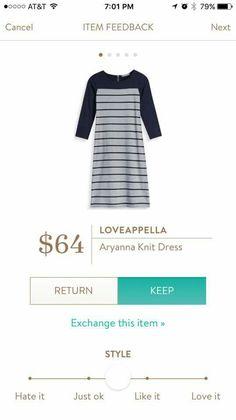 Loveappella Arianna Knit Dress  Stitch Fix