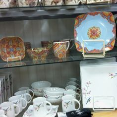 Paisley dishes :)