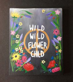 wild wild flower child// via bjorn and bringly on etsy