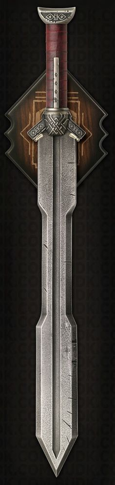 ☆ Collecting The Precious « United Cutlery's The Sword of Kili » This very detailed replica comes with a high quality steel blade. This sword will come to you aged and made to look as if it was used by Kili as we've seen him so far in The Hobbit Trilogy. ☆