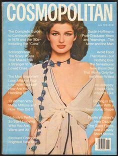 Cosmopolitan magazine, JUNE 1979 Model: Eva Vorhees Photographer: Francesco Scavullo