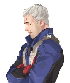 Soldier 76 by mhaikkun My Character, Character Concept, Character Design, Character Ideas, Overwatch Video Game, Overwatch Pharah, Solider 76, Jack Morrison, Overwatch Drawings