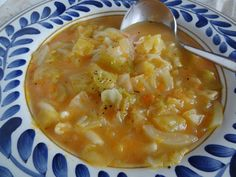Sopa de Grao – Chick Pea Vegetable Puree with Cabbage