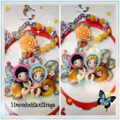 Butterlfly dolls polymeri clay. by IlmondodiSaxStrega.deviantart.com on @deviantART