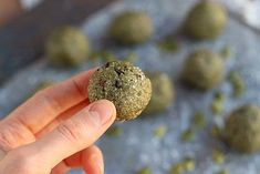 Pumpkin Seed Flour Cookie Dough Bites (Nut-Free, Low Sugar) 6