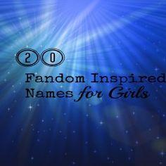 BabyZone: 20 Fandom Inspired Baby Girl Names