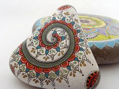 This unique, triangle shaped, painted mandala stone is waiting for its new home.  I paint all my designs with a lot of love, patience and dedication. They are collected from the cost of the Black sea, from the one of the last pristine beaches of Bulgaria.  Everything is made by my