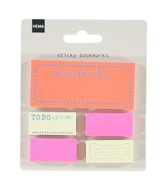 5-pack sticky bookmarks – HEMA